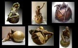 C.LESUEUR Sculpteur Peintre
